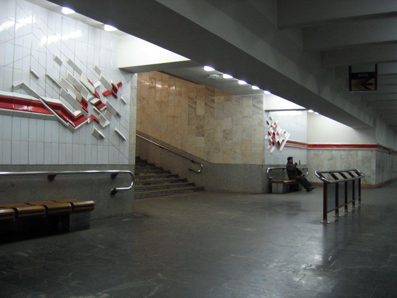 только попадает станция метро первомайская минск фото которая