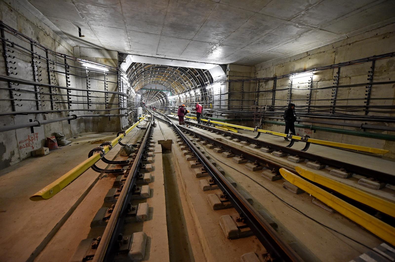 В столицеРФ стартовали работы наюжном участке 2-го кольца метро
