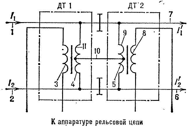 схема дросселя для люминисцентных ламп