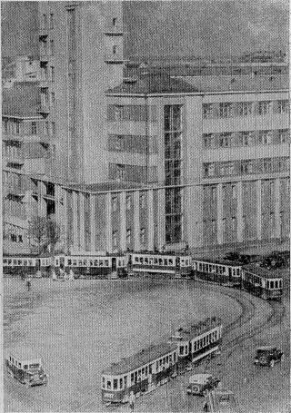 Движение трамвая у Красных