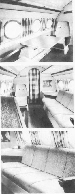 варианта самолёта Як-40